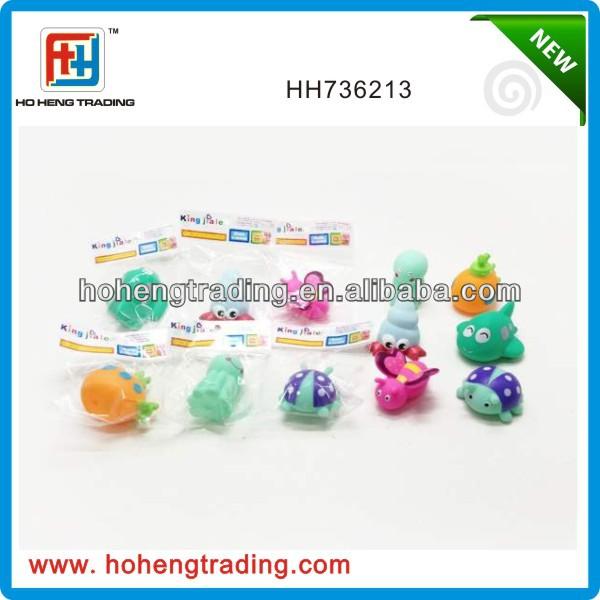 Cute Baby bath toy, eco-friendly material bath toy