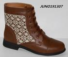 HOT! lady short boots comfortable women shoes black/camel
