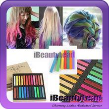 2014 hot sale Maries temporary hair chalk non-toxic hair pastel chalk hair art