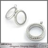 Hot selling floating locket pendant sterling silver glass lockets wholesale