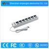 High Speed USB Hub 7 Port White USB Hubs with Cheap Pirce