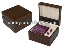 2014 Most Popular Forever Comfy Men Tie Cufflink Storage Box Fathers Day Souvenir Gifts