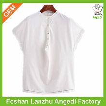 Cheap cotton tshirts women white tshirt