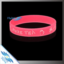 custom corporate silicone bracelets