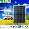 sun energy high perfomance of photovoltaic solar panel 75w