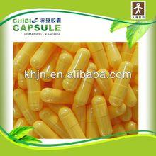 medicine packaging empty organic capsules