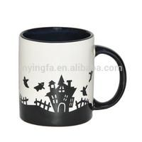 High quality ceramic holiday mug for Halloween