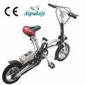 Pequeño mini bici eléctrica plegable bicicletas con 200w motor eléctrico sin escobillas y 36v9ah plomo- de ácido de la batería hecho en china para el uso en adultos