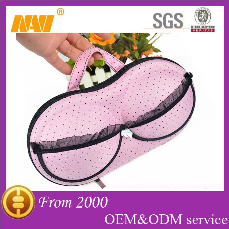 2014 New style travel bra bag(NV-BR001)