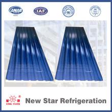 cámaras frigoríficas panel del techo ondulado