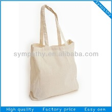 blank cotton tote bags long handle