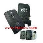High Quality Toyota crown 3 button remote key blank, toyota crown smart key