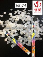 pink confetti party poppers/snowflake confetti/white paper confetti wholesale