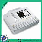 5.7 Inch multi color 6 channel portable ecg machine/price of ecg machine
