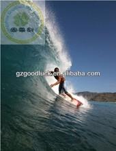Ucrania personalizado logotipo de la marca de tipo tropical tabla de surf de cera/tabla de surf de cera de clima tropical de uso