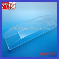 transparent plastic display cases