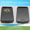 Mini magnatic gps tracker hand held personal gps tracker tk102b