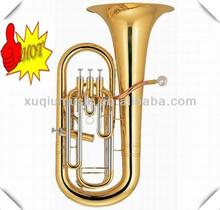 Gold Lacquer Euphonium 3+1 Piston