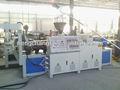 Filme de pvc/folha de linha máquina de extrusão para a prova de água material