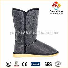YL2503 dark grey designer snow boots