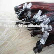 Top quality best selling virgin remy brazilian micro loop hair extensions