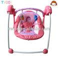 Nuevo diseño de muti- función bebé mecedora eléctrica columpios silla de bebé y fábrica de zhongshan/del bebé swing cuna/de bebé cuna