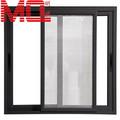 Correr janelas de alumínio de desenho, escritório janela de vidro deslizante, interior janela de vidro deslizante