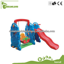 Dreamland plastic swing and slide set