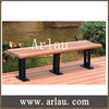 Arlau FW293 wood bench furniture outdoor long backless wood bench