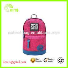 Professional manufacturer new deisng backpack school