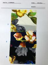 US$ 1/M up Chiffon Print Fabric Textile Stock Stocklot:G-14040125