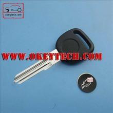 """OkeyTech Chevrolet transponder key for Chevrolet transponder key with 46 locked chip """"Circle +"""" for blank Chevrolet key"""