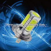 COB led High power h4 led car led headlight h4 with lens led light manufacturer no-polarity