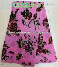 African women velvet fabric ,dress velvet fabric. sportswear fabric. 5yds/pc. CL 9219-4