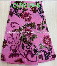 African women velvet fabric ,dress velvet fabric. sportswear fabric. 5yds/pc. CL 9219-6