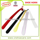 Various types of plastic shoe horns wholesale