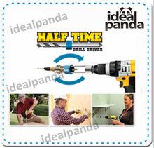Half Time Drill Driver quick change drill bit set