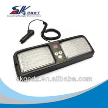 Highlight high-power car visor strobe light strobe explosive flash SUNVISOR LED12 kinds flash method :SKD-86