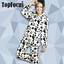 Latest Fashion Soft Flannel Anime Printed Casual Sleep Women Wear