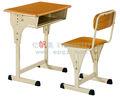 Okul mobilyaları öğrenci sandalye, ağaç kök masa, ayarlanabilir tek masa ve sandalye