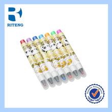 colorful Felt Pen kids student school water color pen in plastic box