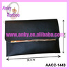 New trendy fashion ladies PU leather clutch bag for party with metal chain shoulder AACC-1443