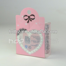 High quality plastic printed cosmetic boxes with logo