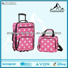 Latest design 2piece travelling luggage bag sale