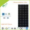 100W Mono Solar Panel with All black