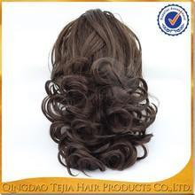 New arrival fashion Tangle free cheap black ponytail women hair pieces