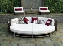 Cabana 2014 Club Wicker Woven Aluminum lounge round sofa bed furniture