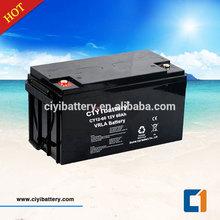 Maintenance Free Battery Valve Regulated Sealed Lead Acid Battery 12V 60AH