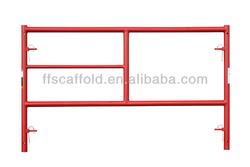 Candy Cane Fast Lock Scaffolding Frames