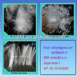 Monofilament Polypropylene Fiber Cement Reinforcement
